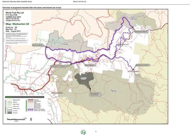Proposed Warburton Map